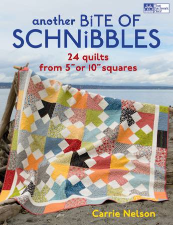"Another Bite Of Schnibbles: 24 quilts from 5"" or 10"" squares by Carrie Nelson"