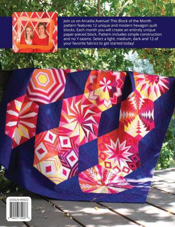 Arcadia Avenue: A Block of the Month Quilt Pattern by Shayla and Kristy Wolf