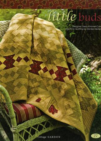 Welcome to our garden ... where quilters dreams bloom in fabric. Cottage Garden features 8 quilts & 2 pillows designed by Gerry Kimmel-Carr for Need'l Love.