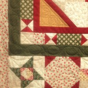 """Always the Season Quilt Fabric by Faye Burgos Quilt by Vicki Bellino of Bloom Creek 56"""" x 70"""""""