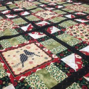 Christmas Cabin Quilt Kit