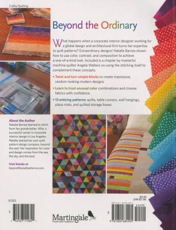 A Modern Twist: Create Quilts with a Colorful Spin by Natalie Barnes with Angela Walters