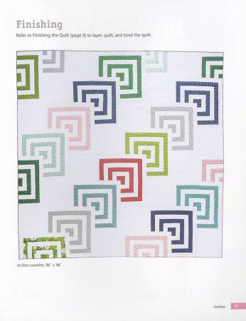 Cabin Fever: 20 Modern Log Cabin Quilts by Natalia Bonner and Kathleen Whiting