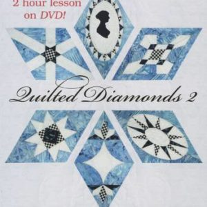 Quilted Diamonds 2: More Austen-Tatious Diamonds to Hand Piece by Linda Franz