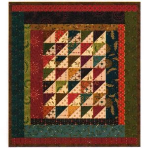 "Hen Pecked Quilt Kit 10 1/2"" x 11 1/2"" Kim Diehl Whatnots #2"