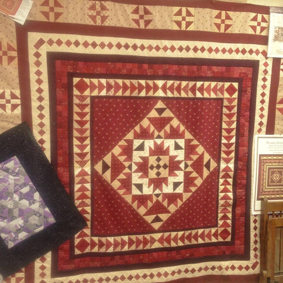 A Prairie Gathering Quilt Pattern - Quilt Pattern